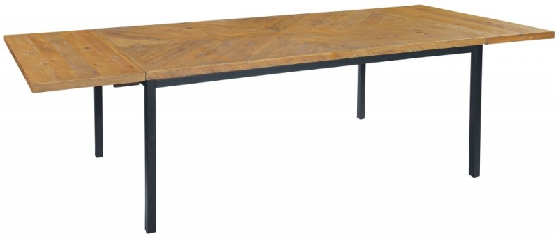 Amelia Parquet 180cm Rectangular Extending Dining table