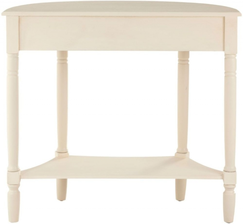 Heritage White Pine 1 Drawer 1 Shelf Console Table