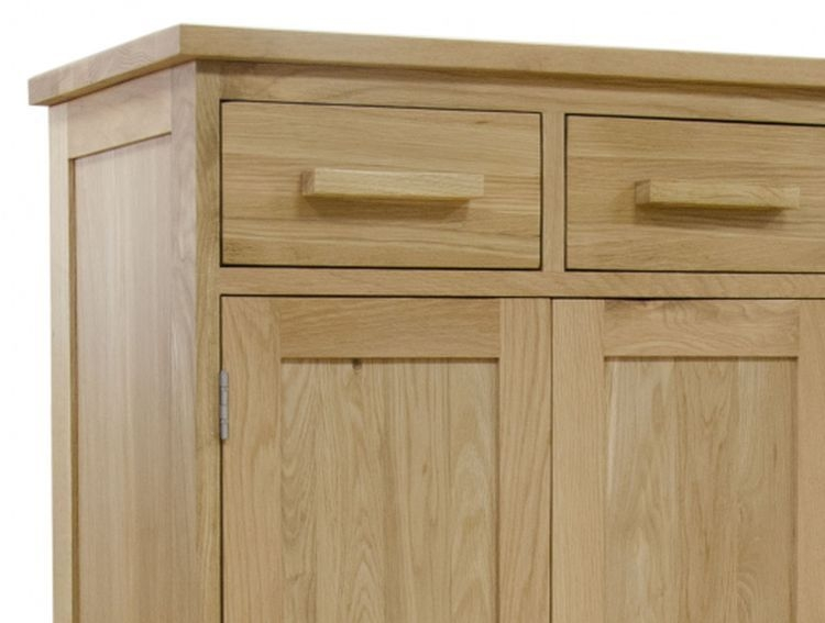 Homestyle GB Opus Oak Shoe Cupboard