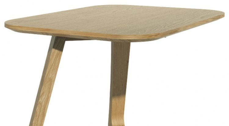 Homestyle GB Scandic V Oak Small Lamp Table