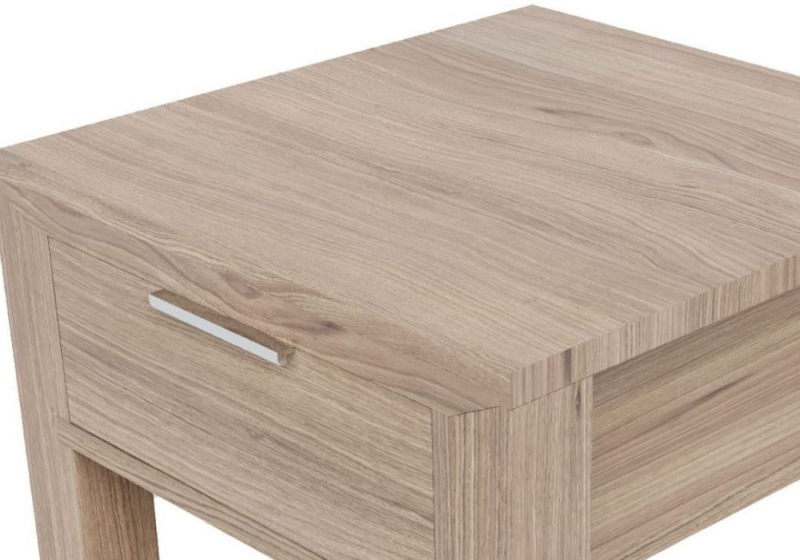 Laguna Oak 1 Drawer Lamp Table