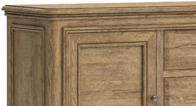 Versailles Oak Large Sideboard