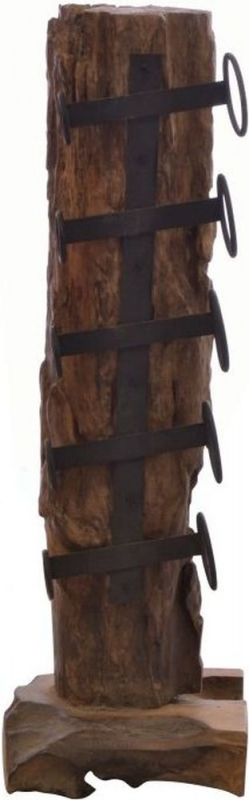 Ancient Mariner Wooden Small Eroded Wine Rack