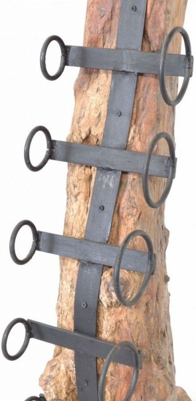 Ancient Mariner Wooden Large Eroded Wine Rack