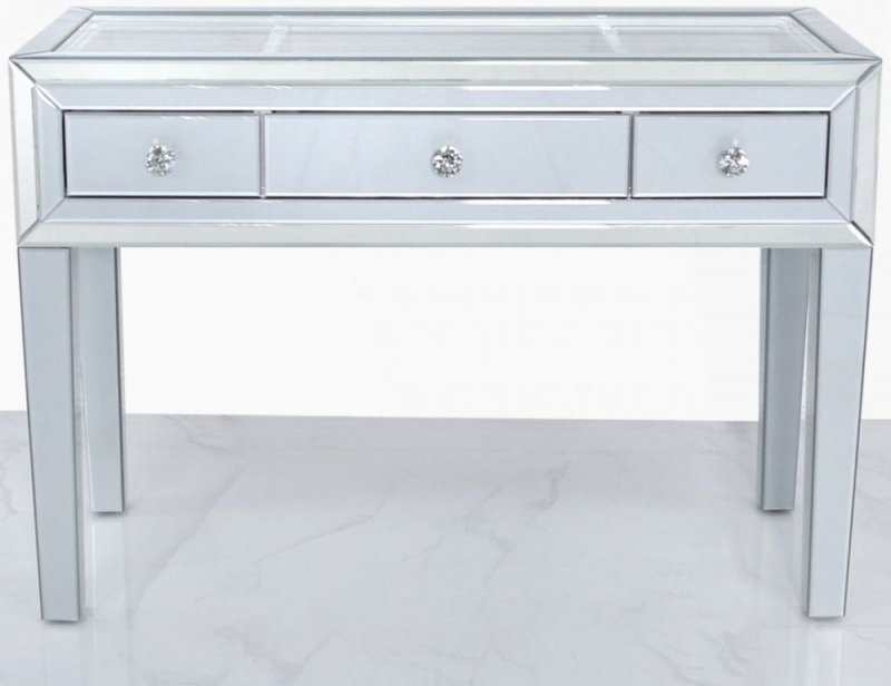 Montague Grey Mirrored Dressing Table