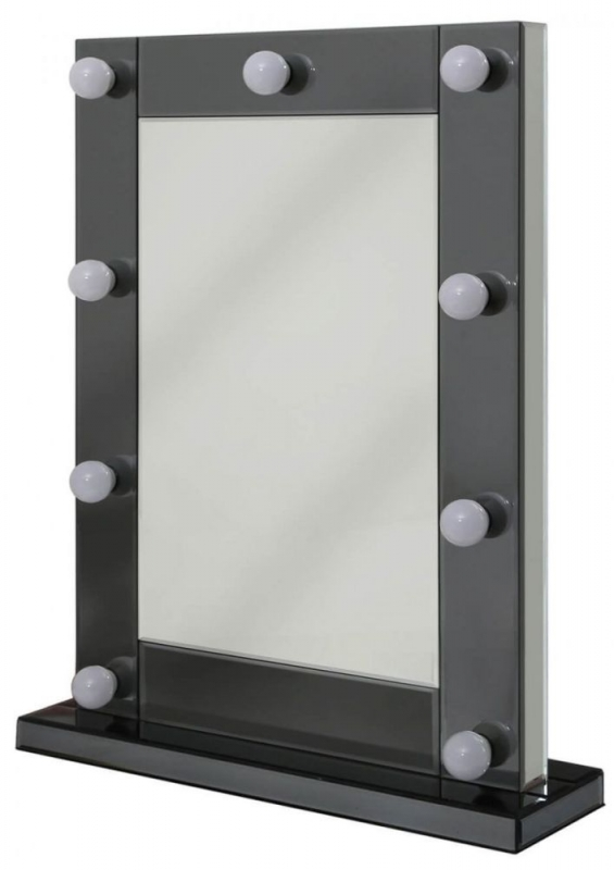 Orbit Smoked Broadway 9 Light Vanity Mirror