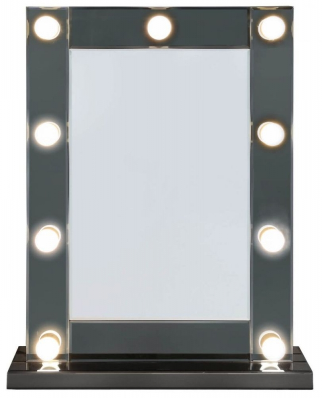 Orbit Broadway 9 Light Vanity Mirror - Smoked Mirrored
