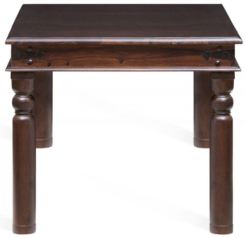 Wood Jali Sheesham Rectangular Dining Table - 150cm