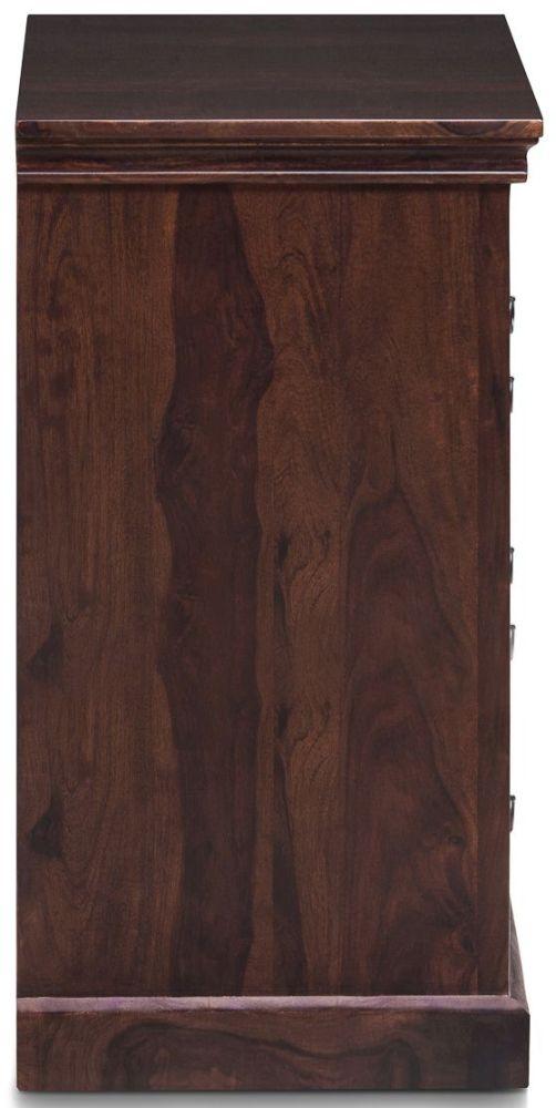 Wood Jali Sheesham 1 Door 3 Drawer Hallway Sideboard