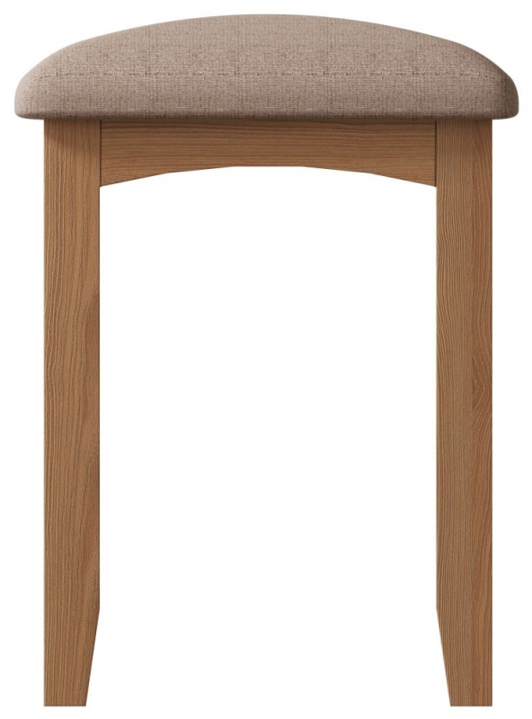 Eva Light Oak Stool