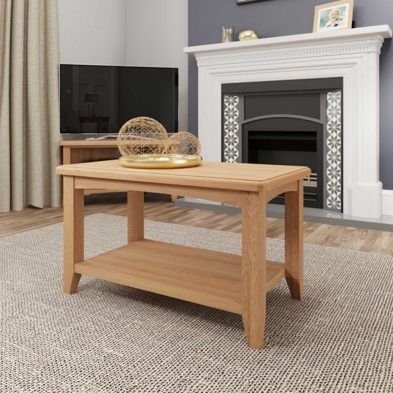 Eva Light Oak Coffee Table