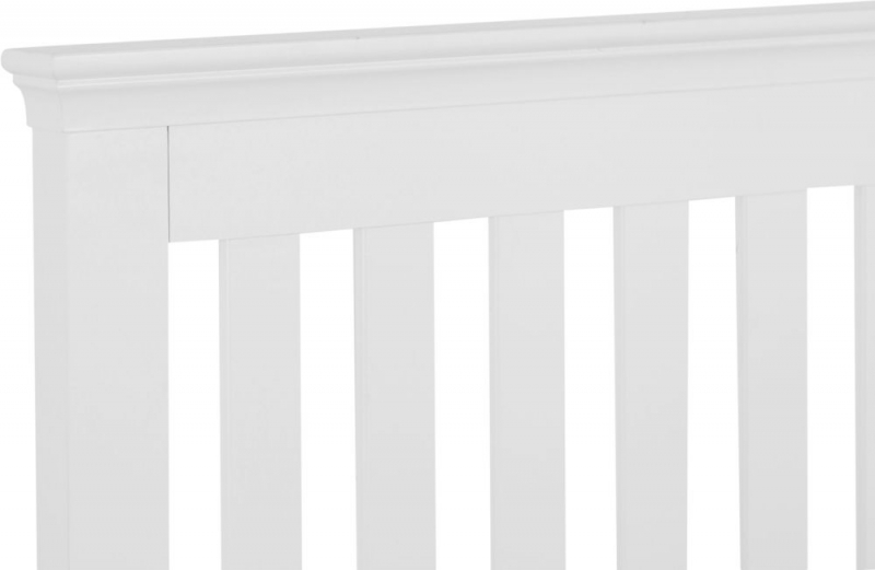 Chantilly White Painted Bed