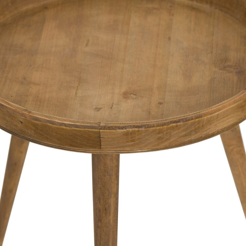 Hill Interiors Loft Round Side Table (Set Of 3)