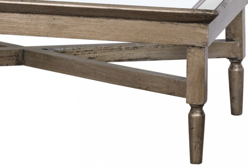 Hill Interiors Astor Mirrored Coffee Table