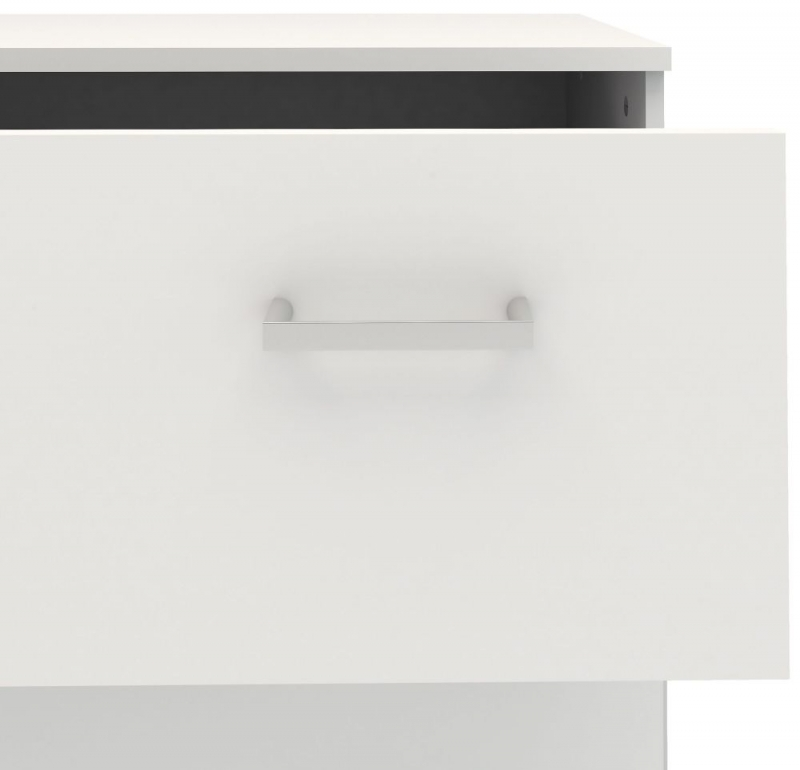 Space White 3 Drawer Chest