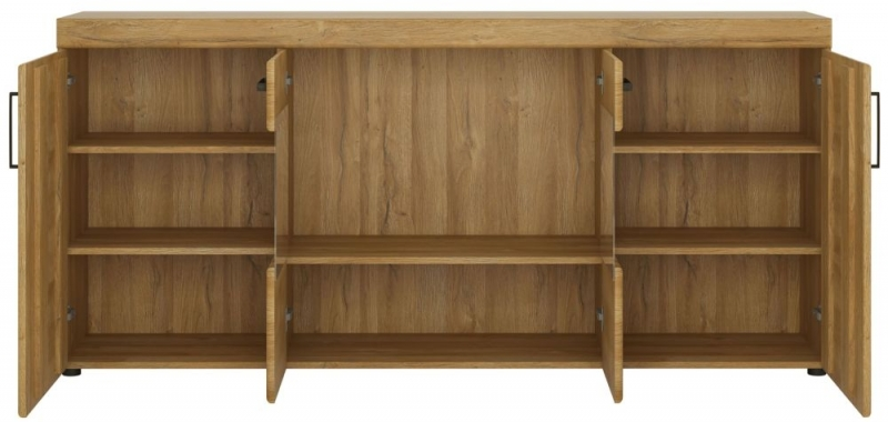 Cortina Grandson Oak Glazed Wide Sideboard