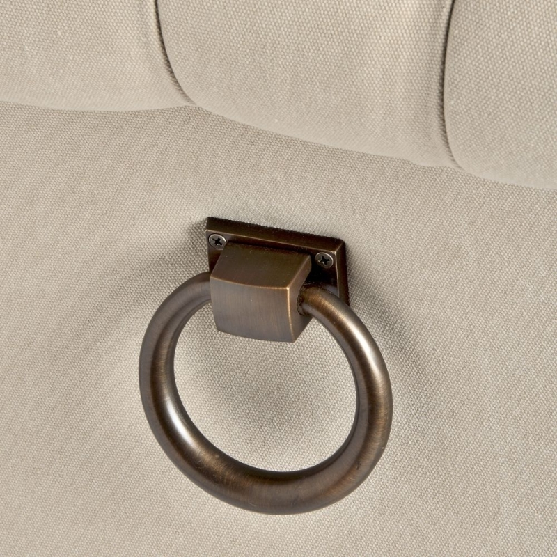 Clearance Half Price - Hill Interiors Roll Top Dining Chair with Ring Pull (Pair) - New - T056
