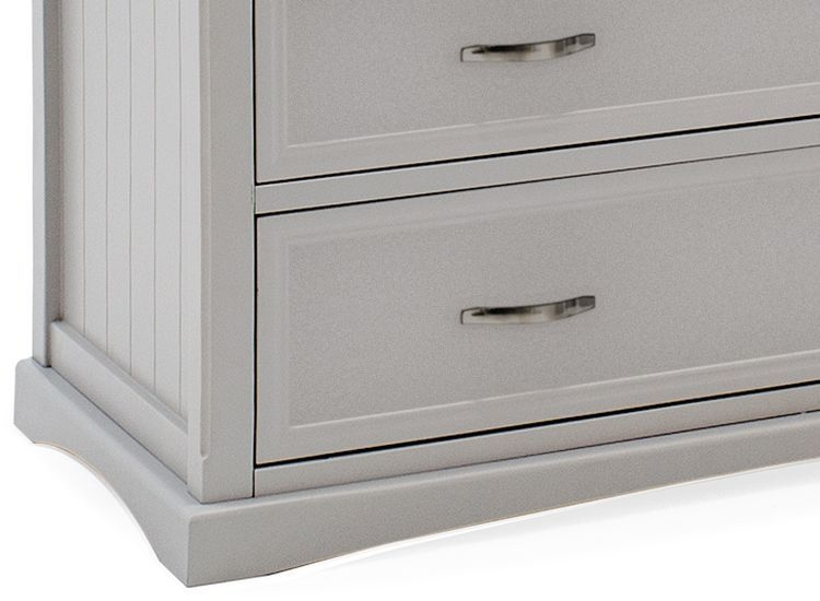 Vida Living Harlow 5 Drawer Chest - Grey