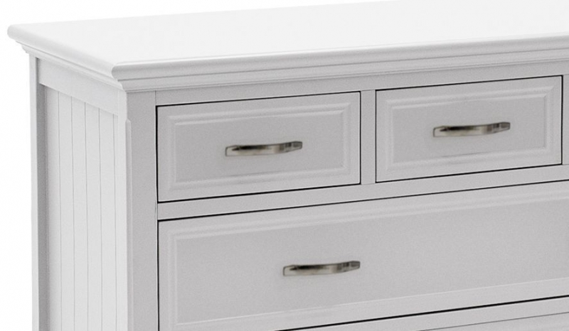 Vida Living Harlow 5 Drawer Chest - White