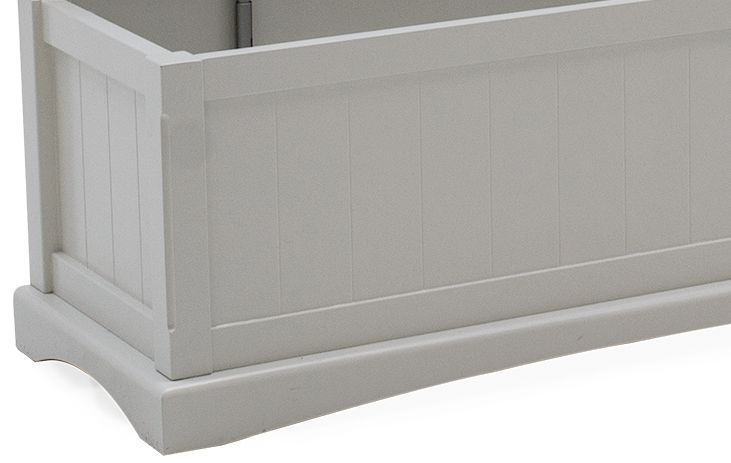 Vida Living Harlow Blanket Box - Grey