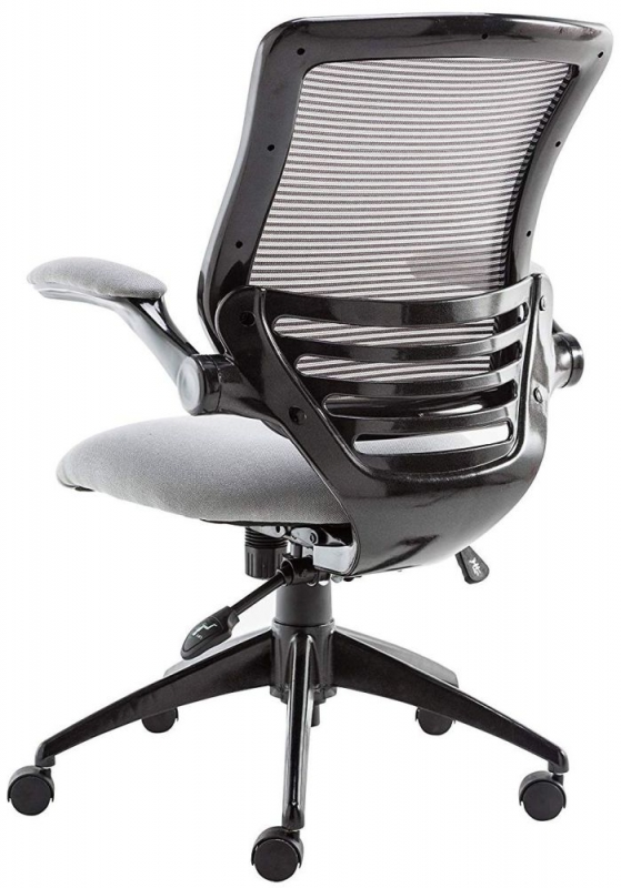 Alphason Stanford Grey Mesh Fabric Office Chair - AOC8881-GRY