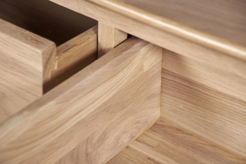 Toulouse Oak 3+2 Drawer Chest