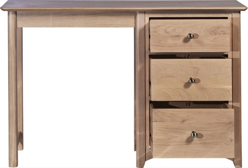 Toulouse Oak Single Dressing Table