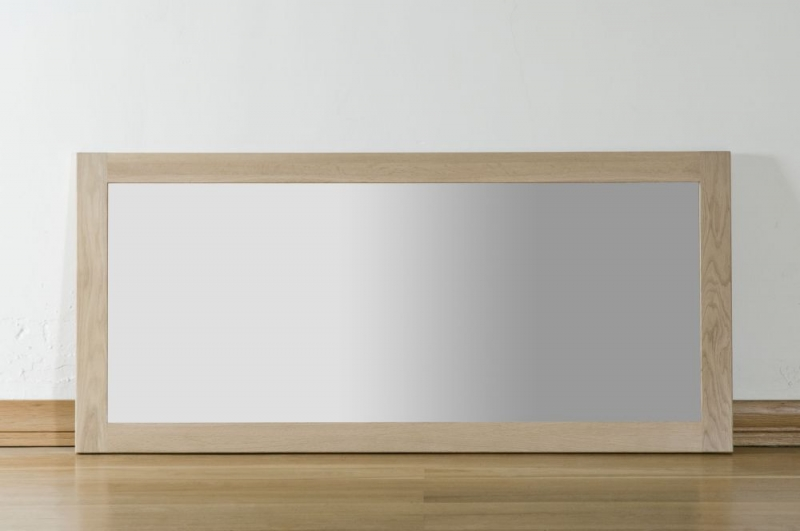Toulouse Oak Rectangular Wall Mirror 130cm x 60cm