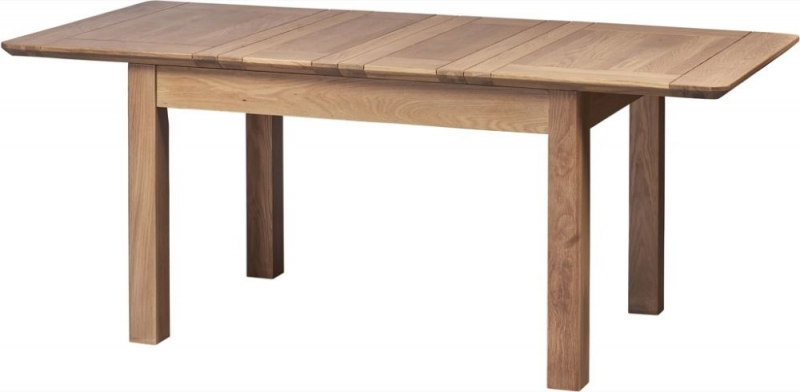 Toulouse Oak Extending Dining Table