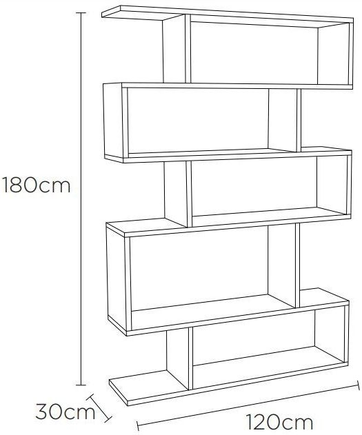 Clearance Half Price - Content by Terence Conran Balance Tall Shelving Unit - Oak - New - GR61