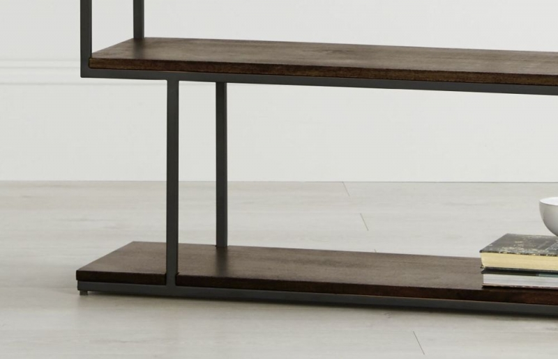 Content by Terence Conran Balance Tall Shelving Unit - Wood and Black Metal