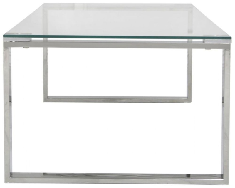 Hawarden Coffee Table - Glass and Chrome