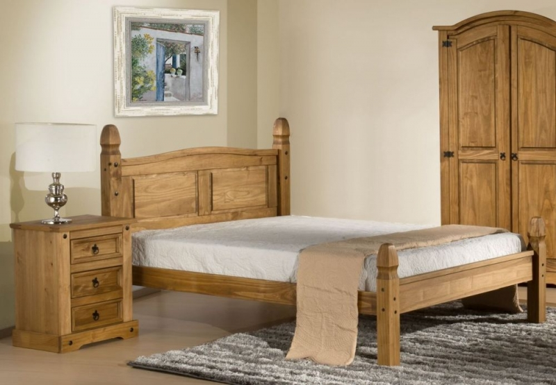 Birlea Corona Pine Low Foot End Bed