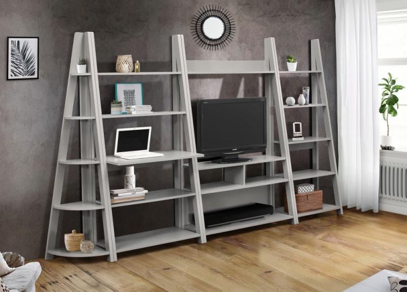 Birlea Dayton Grey Entertainment Unit