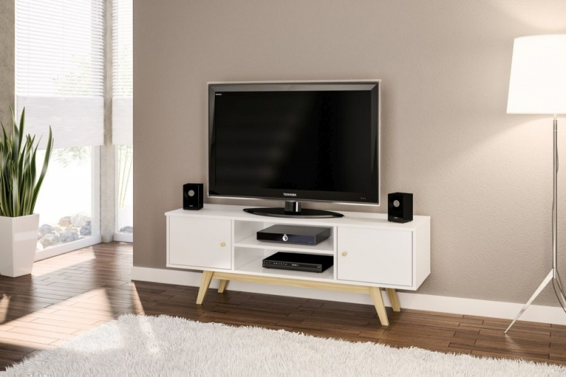 Birlea Milford White TV Unit