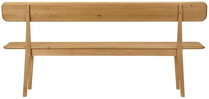Qualita Hudson Oak Bench