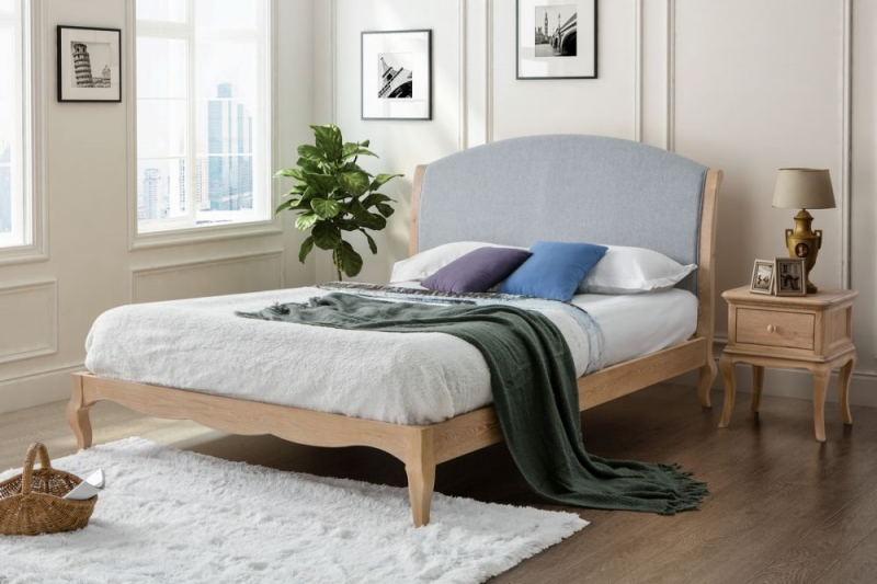 Birlea Ritz Bed - Oak and Grey