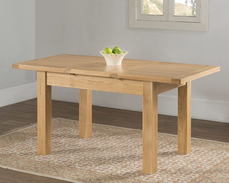Cambridge Oak Butterfly Extending Dining Table