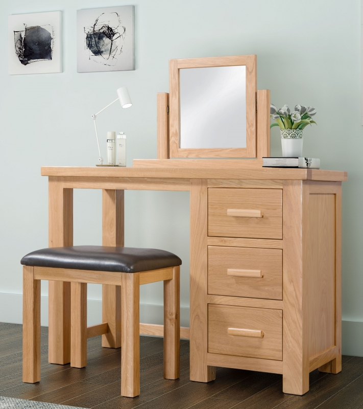 Cambridge Oak Dressing Table Set