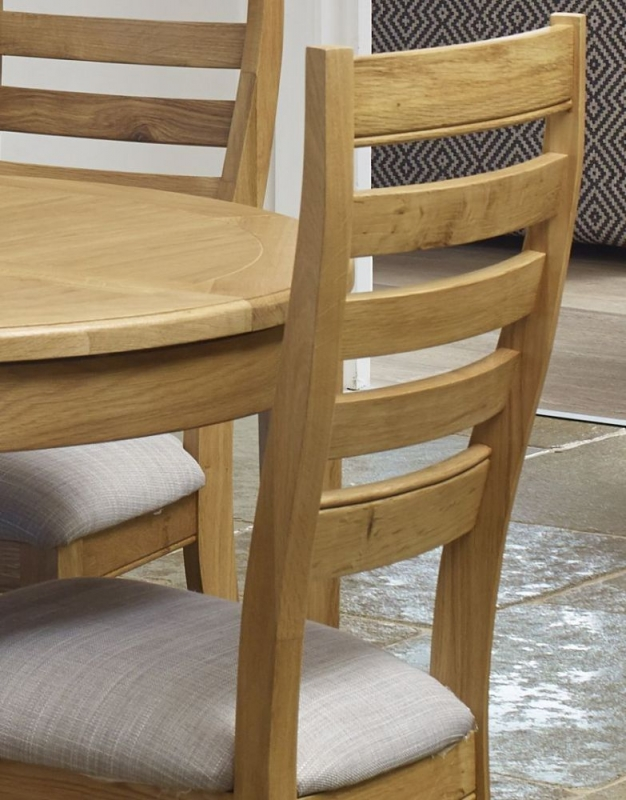 Mark Webster Westport Oak Extending Dining Table and 4 Chairs