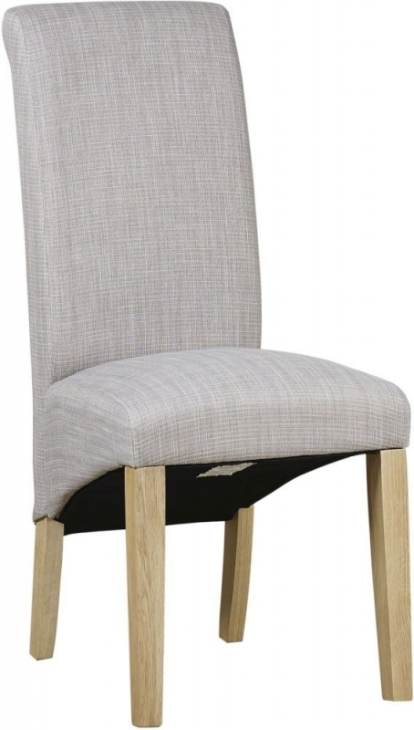 Mark Webster Waterford Darcy Scroll Back Fabric Dining Chair (Pair)
