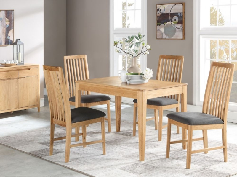 Dunmore Oak Dining Table