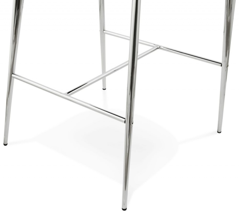 Oriel Grey Stainless Steel Snack Bar Stool - (Pair)