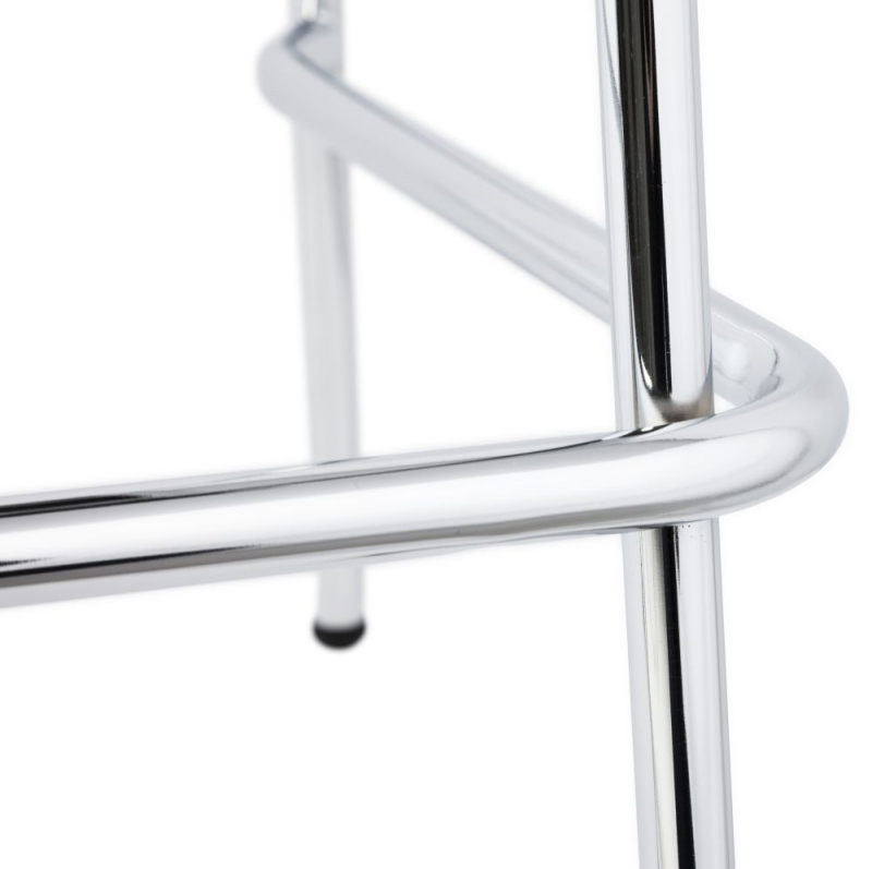 Nico Natural Stainless Steel Small Bar Stool - (Set of 4)