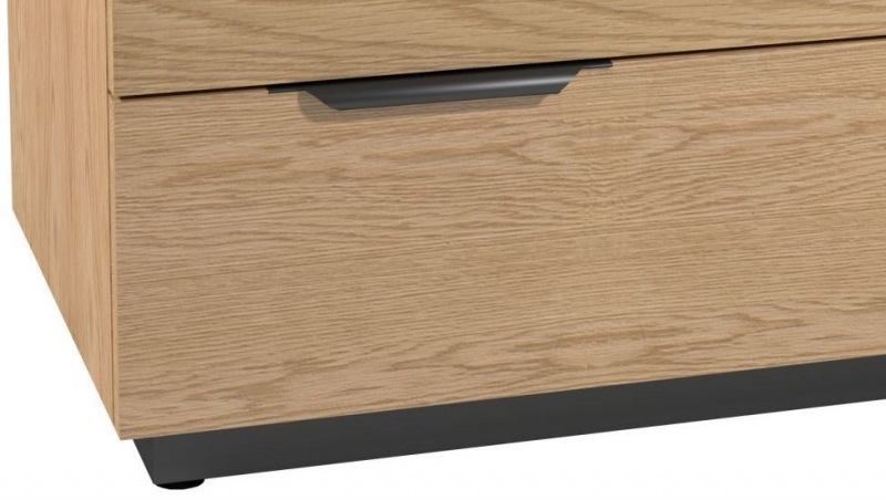Fusion Oak 3 Drawer Chest