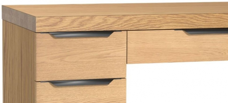Fusion Oak Dressing Table