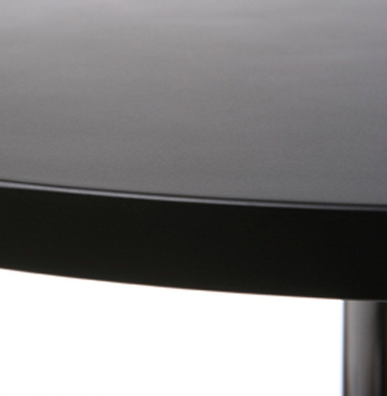 Hurricane Black Stainless Steel Bar Table