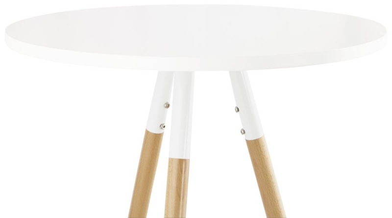 Donal Beech and White Painted Bar Table