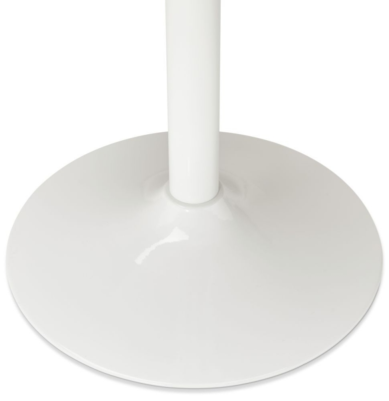 Vienna White Painted Steel Bar Table