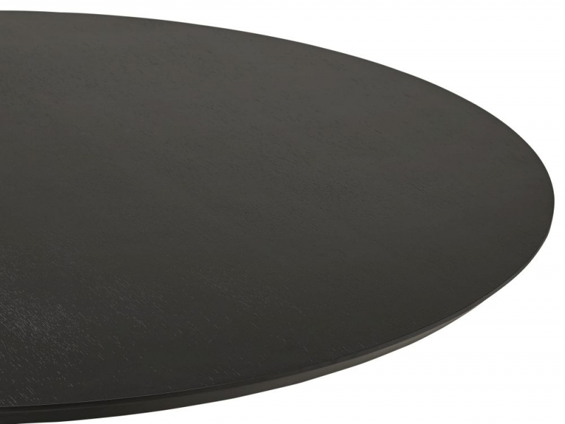 Carinne Black Stainless Steel Bar Table